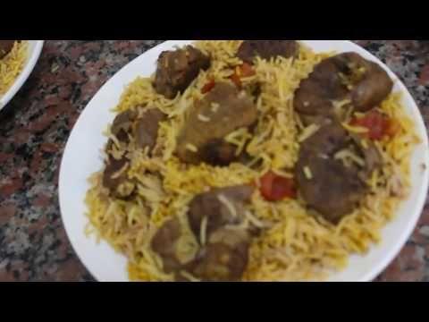 كبسة اللحم على اصولها عشان عيد الاضحى مع سر فى شوربة اللحم بتكاتنا رهيييب Youtube Food Meat Beef