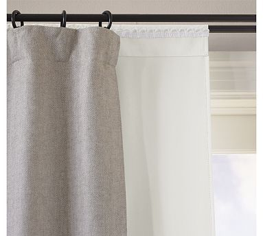 blackout drape liner potterybarn for future bedrooms