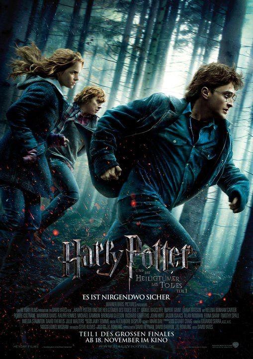 Harry Potter Und Die Heiligtumer Des Todes Teil 1 Harry Potter Movie Posters Deathly Hallows Part 1 Harry Potter Film