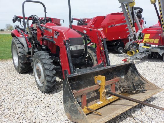 CaseiH JX60  tractor with  L720 loader