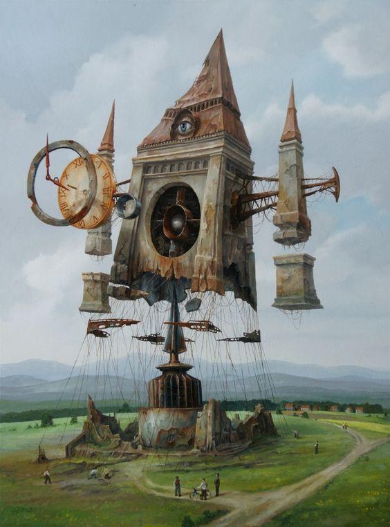 Painting by Jaroslaw Jasnikowski