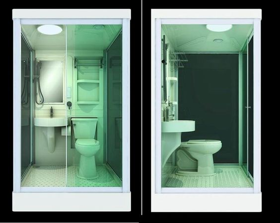 Portable Shower Toilet Combo : All in one shower toilet and sink google search tiny