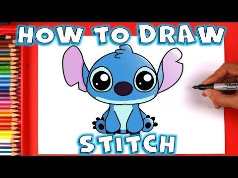 How To Draw Disney Stitch Cute And Easy Step By Step Youtube