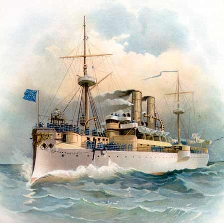 uss maine Uss maine (bb-10), the lead ship of her class of pre-dreadnought battleships, was the second ship of the united states navy to be named in honor of the 23rd state.