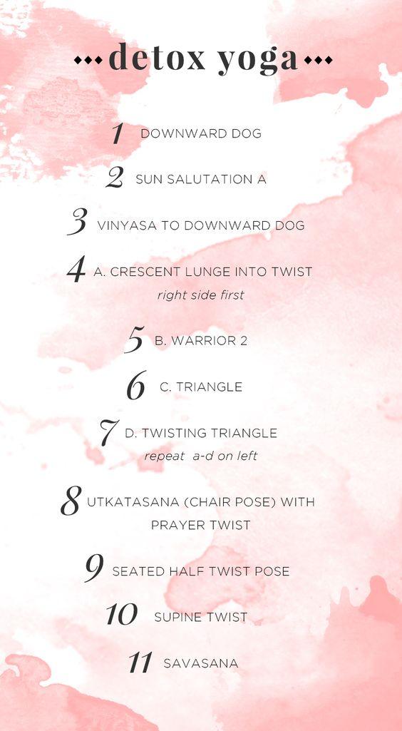 Detox Yoga Sequence #ah