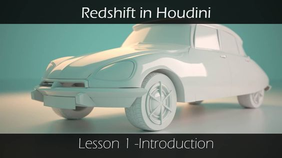 Redshift in Houdini - Lesson 1 - introduction on Vimeo