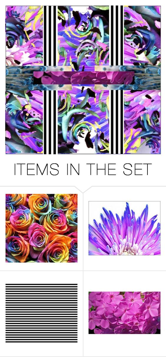 """Unlock My Thoughts"" by cheesyxshirleyxo ❤ liked on Polyvore featuring art, floral, Flowers, abstract, surreal and artexpression"