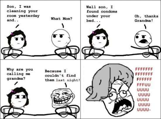 Funny Meme Faces For Facebook : Troll face meme grandma happenings pinterest