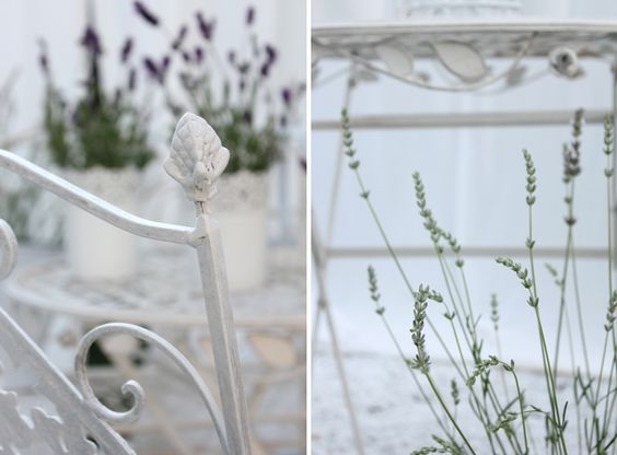 White and Shabby: TIME TO SMELL THE ROSES