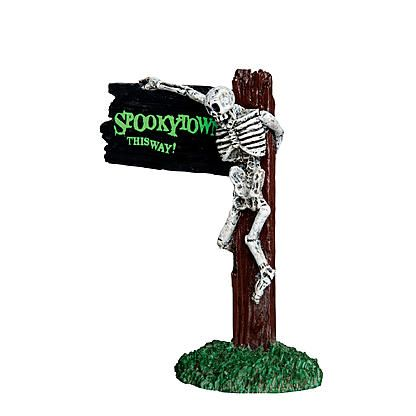 Lemax Spooky Town Collection Spookytown This Way