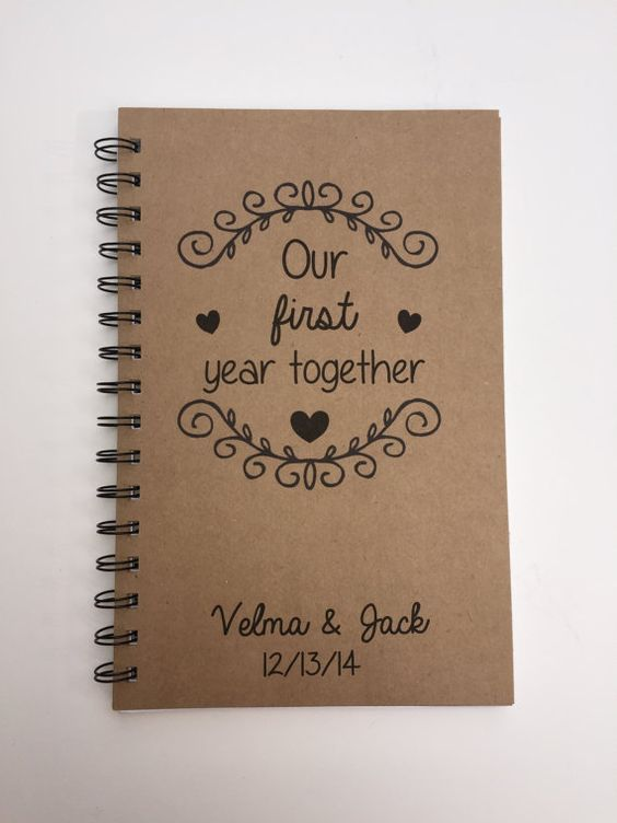 Cute 1 Year Wedding Anniversary Ideas For Him : ... first wedding anniversary first year gifts wedding anniversary
