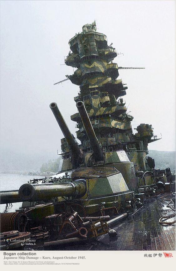 Mutsu camouflaged