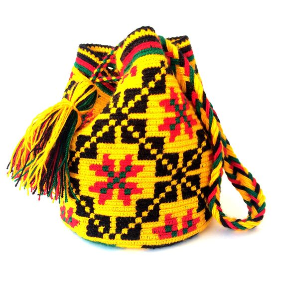 Wayuu Mini Boho Bag: