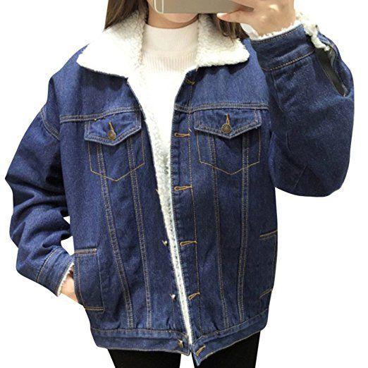 Jeansjacke Frauen Kurze Jeans Mantel Damen Jacken Tops Turn