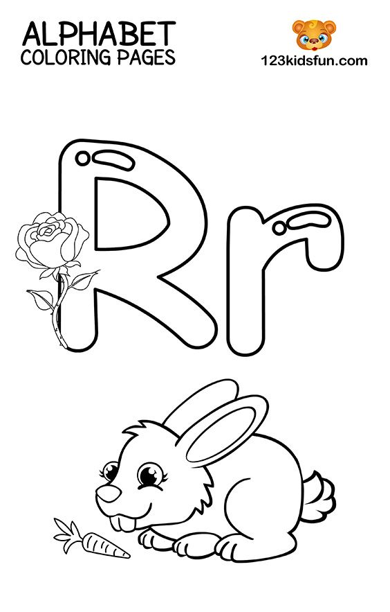 Free Printable Alphabet Coloring Pages For Kids 123 Kids Fun Apps Alphabet Coloring Pages Alphabet Coloring Preschool Coloring Pages