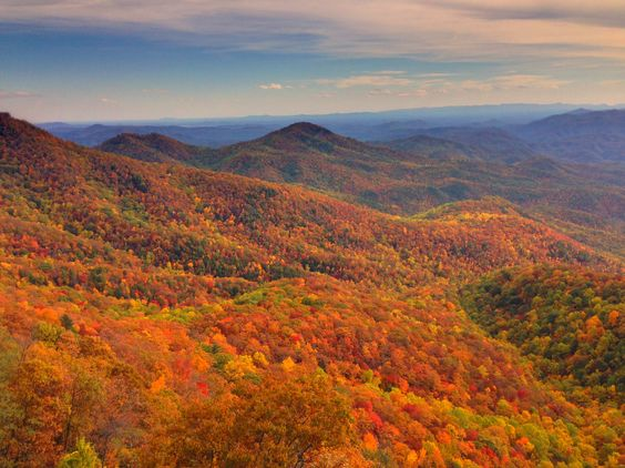 Fall in Blowing Rock, NC: