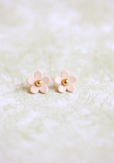mini Marc Jacobs perfume flower earrings: