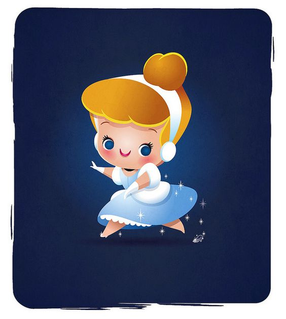 Little Princess - Cinderella by Jerrod Maruyama, via Flickr.  I would love this as a tattoo.