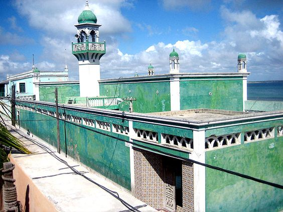 Mosque in Mozambique Island