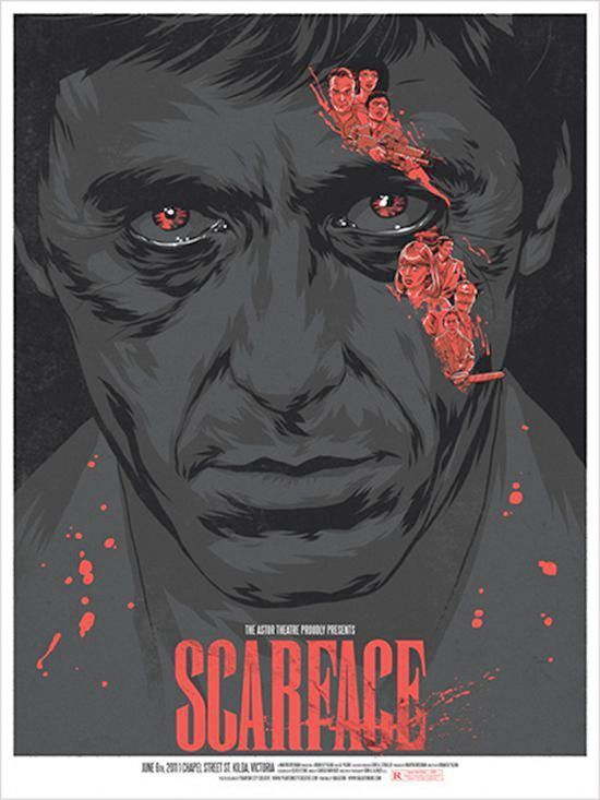 The Tarnished Angels Tcm Vault Collection Scarface Poster Movie Poster Art Movie Posters Design