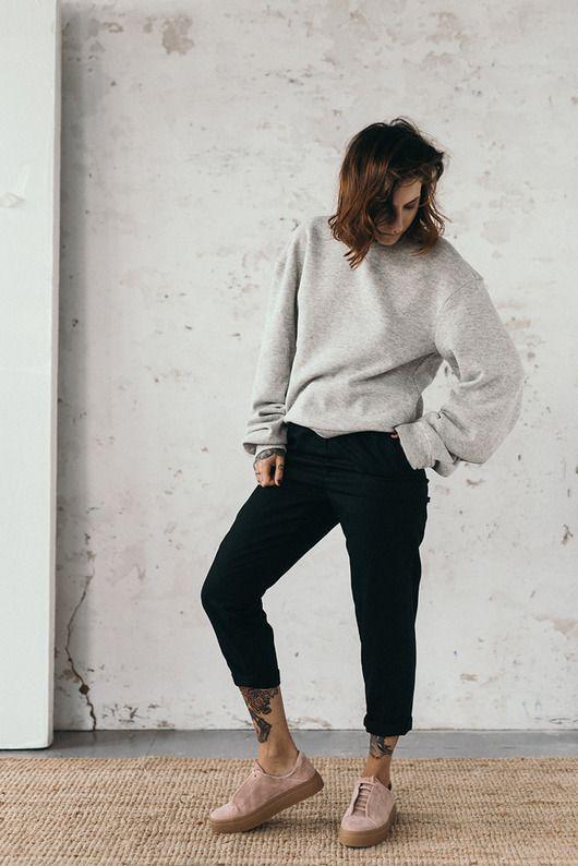 Szara Bluza Oversize Pakamera Pl Style Fashion Normcore