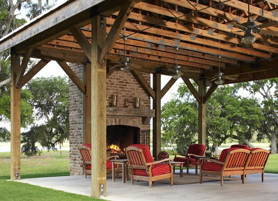 Outdoor entertaining party pavillion entertaining and for Party barn plans