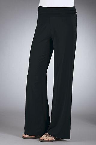 wide leg travel pants - Pi Pants