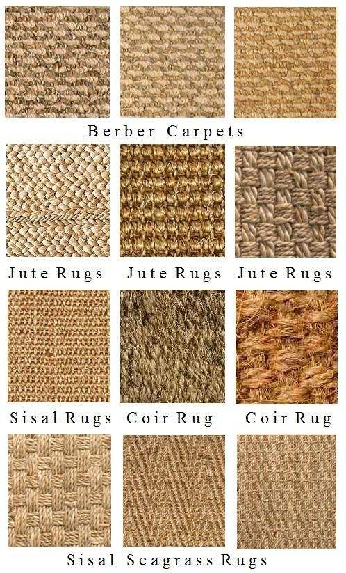 Natural fiber rugs rugs pinterest recherche laine for Different types of carpets with pictures