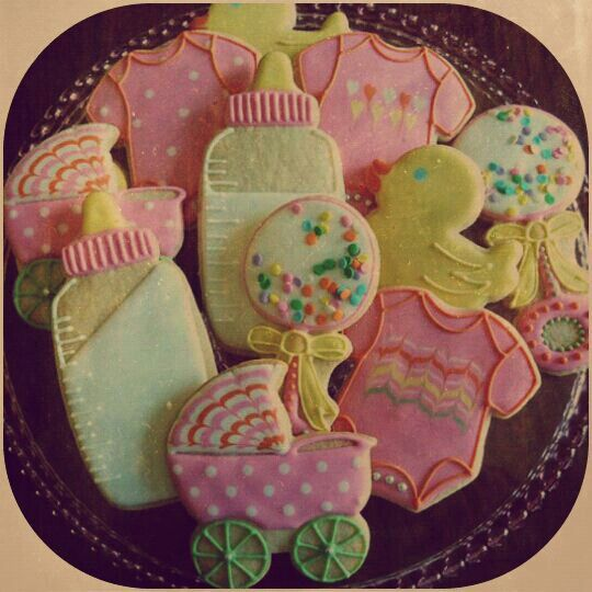 Galletas decoradas vintage