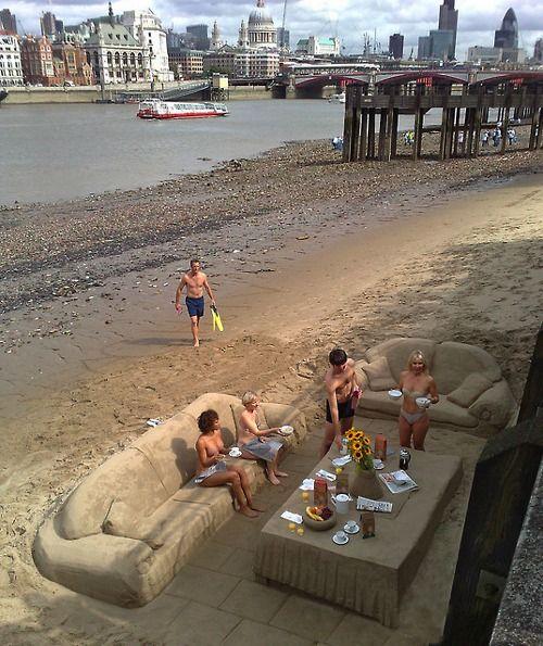 unique!....sand furniture....LOL!!!  :)