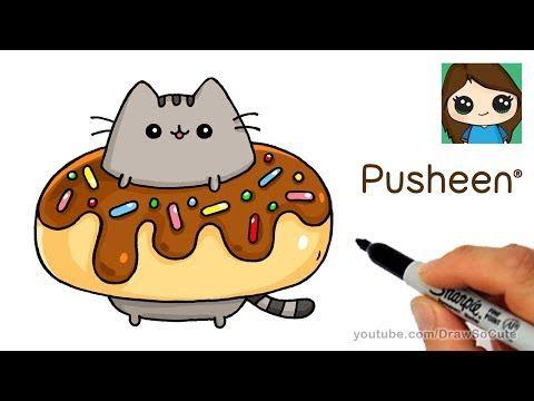 Draw So Cute Youtube Cute Drawings How To Draw Pusheen Pusheen Cat