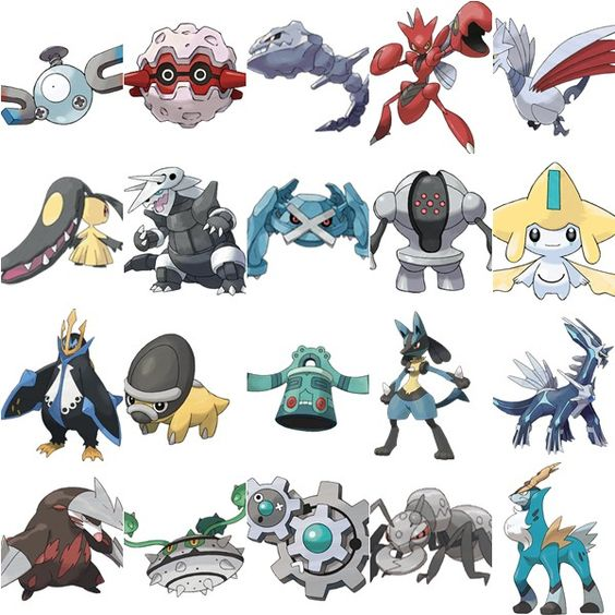 Pokemon Steel And Search On Pinterest