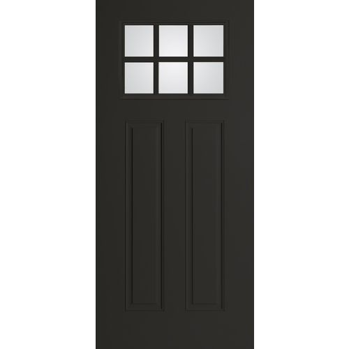 Benchmark By Therma Tru 36 Clear Black Entry Door Home Sweet Outdoors