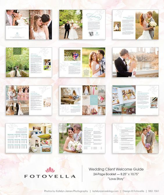 Wedding Photography Brochure Ideas: Wedding Photography Marketing Brochure