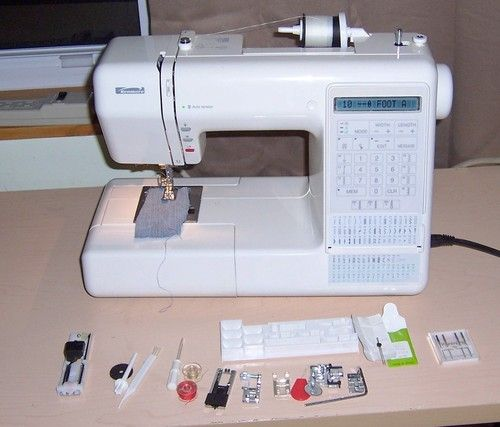 Kenmore model my first sewing machine for Machine a coudre kenmore modele 385