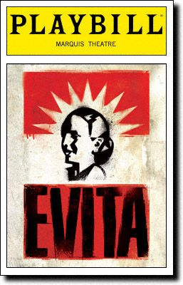 The Broadway revival of Tim Rice and Andrew Lloyd Webber's Evita will begin previews March 12 with an official opening April 5 at the Marquis Theatre (1535 Broadway).