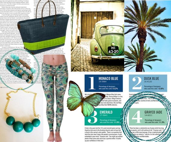 Green Inspiration! http://blog.styleshack.com/monday-mood-board-green-team/