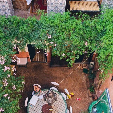 A Riad in Marrakech by Green Kitchen Stories 🌵 #MARRAKECH #RIAD #MOROCCO | 📷 @gkstories