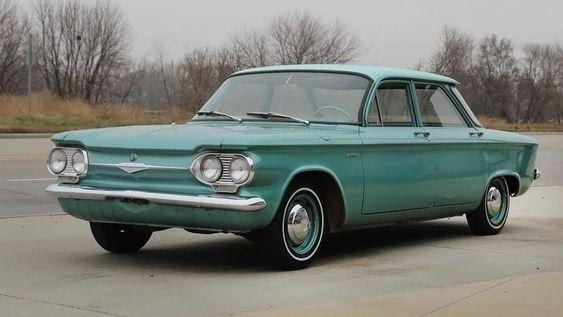 1961 Chevrolet Corvair 500 Four Door Sedan Chevrolet Corvair Chevy Corvair Chevrolet