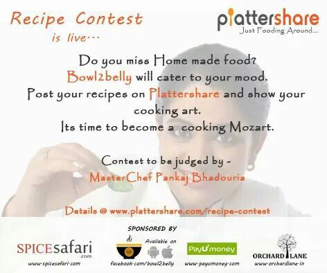 Gift hampers...and much more plattershare recipe contest.