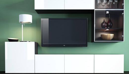 Wohnzimmer ikea besta  IKEA Österreich, BESTÅ/FRAMSTÅ/INREDA System | Besta | Pinterest ...