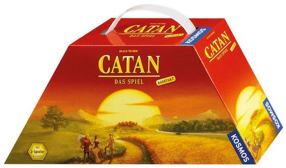CATAN - kompakt, der Spiele-Klassiker für unterwegs