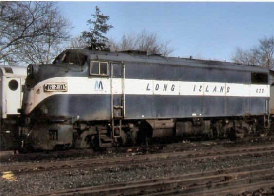 Lirr Alco F7a Power Pack 620 Built In 12 50 Former Milwaukee Rr