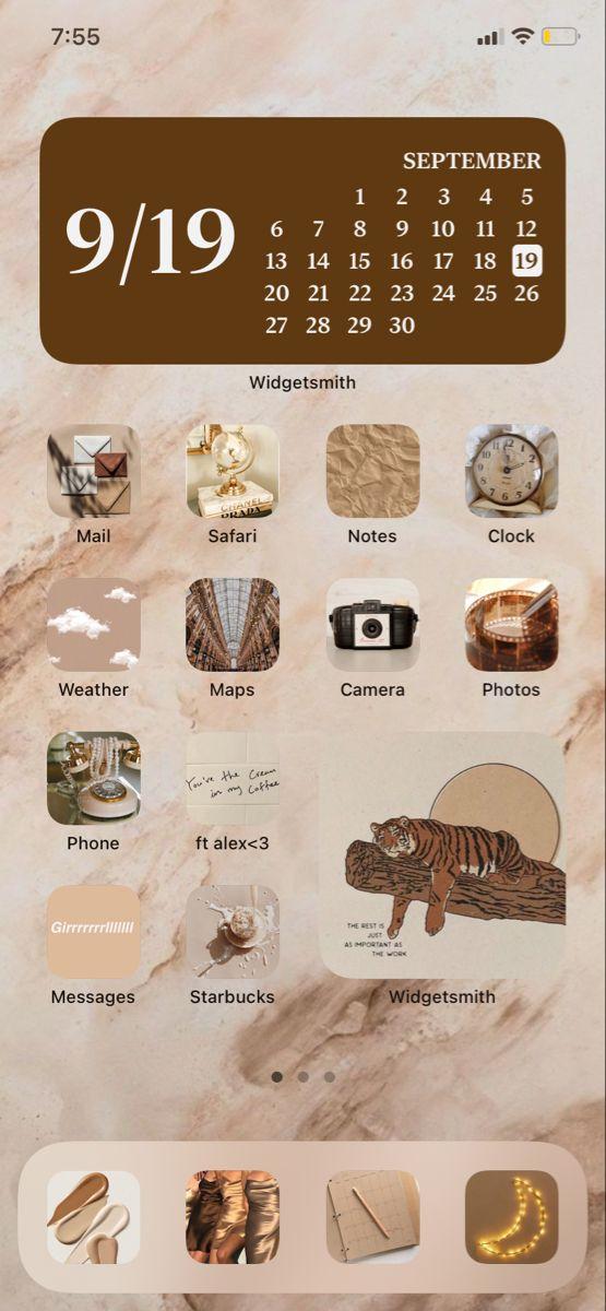 Ios 14 Home Screen Inspo Homescreen Iphone Wallpaper App Homescreen Layout