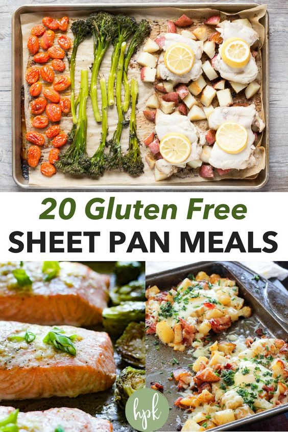 20 Gluten Free Sheet Pan Meals | Hot Pan Kitchen - GF, Paleo, & Whole30