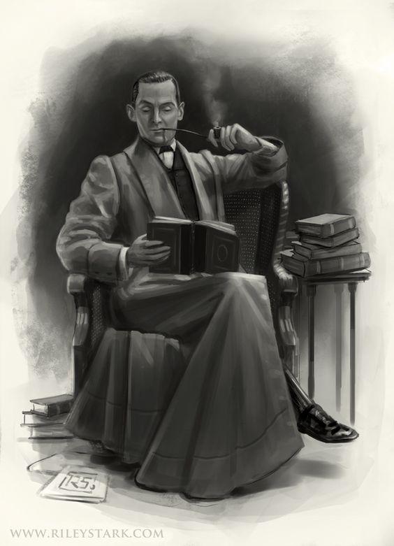 The Omnivorous Reader by RileyStark.deviantart.com on @deviantART