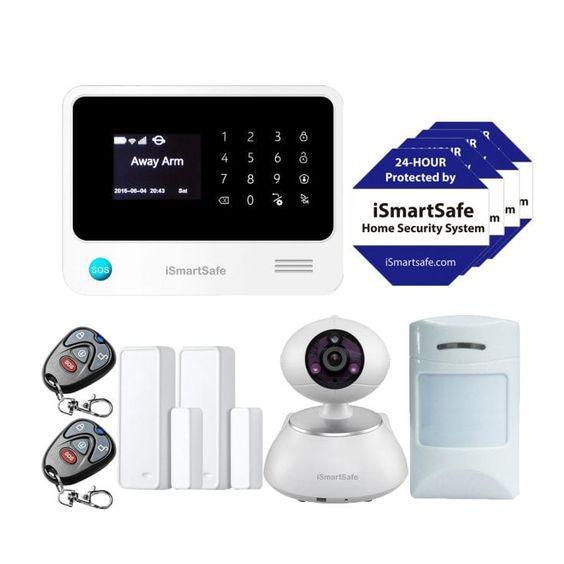 Home Security Sensor Alarm Ismartsafe In 2020 Home Security Systems Wireless Home Security Systems Home Security
