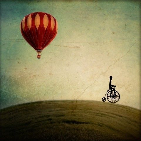 Penny farthing for your thoughts