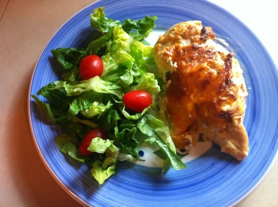 Creamy Cheesy Ranch Baked Chicken Breast Recipe Using only 5 ingredients!
