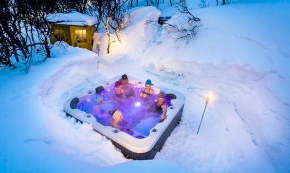 Igloo Stay in Sweden from £59.50pp – inc. 2 nights in real igloo, breakfast & hot drink, hot-tub